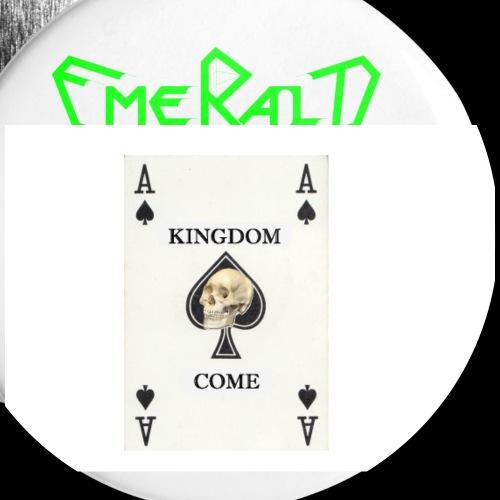 Emerald - Buttons klein 25 mm (5er Pack)