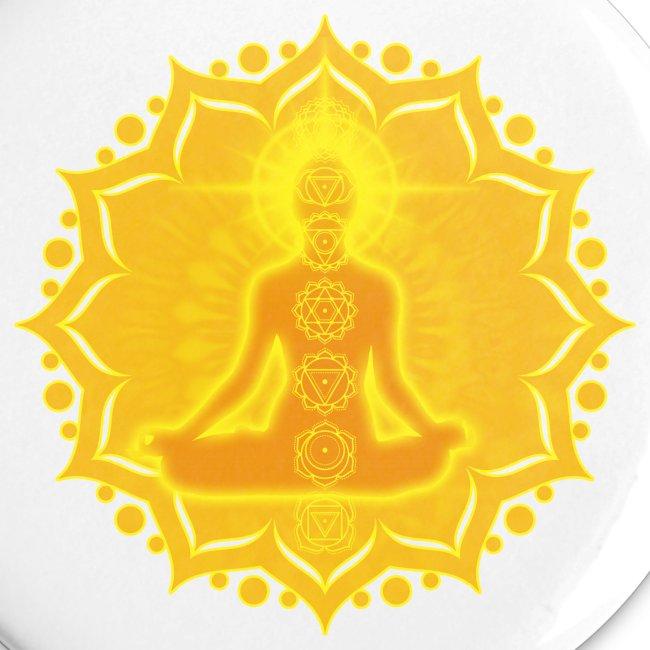 Yoga Lotus Meditation Chakren III