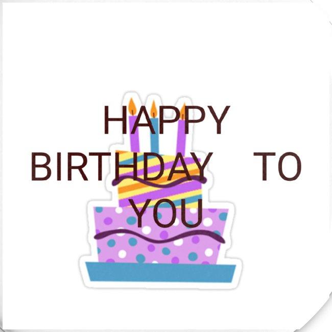 happy birthday 1