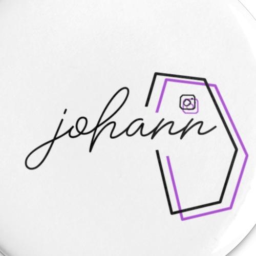 johann instagram buttons - Buttons klein 25 mm (5er Pack)