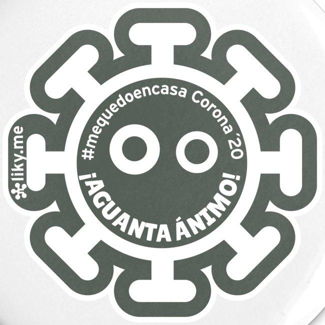 Corona Virus #mequedoencasa grigio
