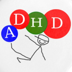 ADHD Badge - Buttons/Badges lille, 25 mm