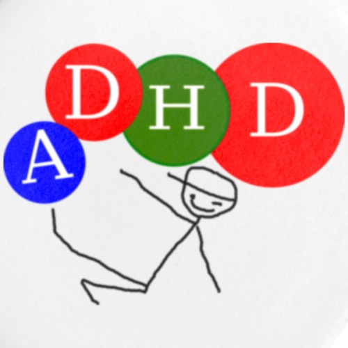 ADHD Badge - Buttons/Badges lille, 25 mm (5-pack)