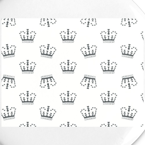 Lovedesh Crown Wallpaper - Buttons small 1''/25 mm (5-pack)