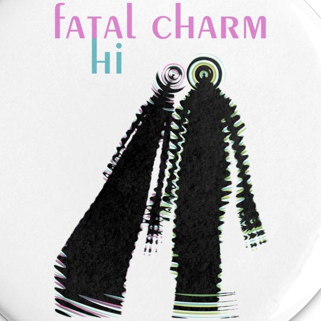 fatal charm - hi album cover art