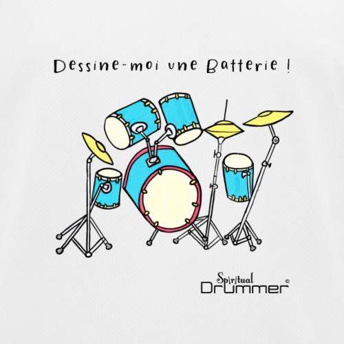 Luigi Drum - Kids Functional T-Shirt