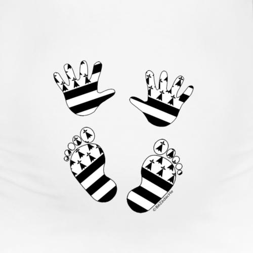 Empreintes Bébé breton - T-shirt de grossesse Femme