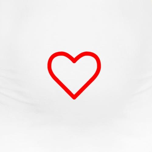 Hjärta - Gravid-T-shirt dam