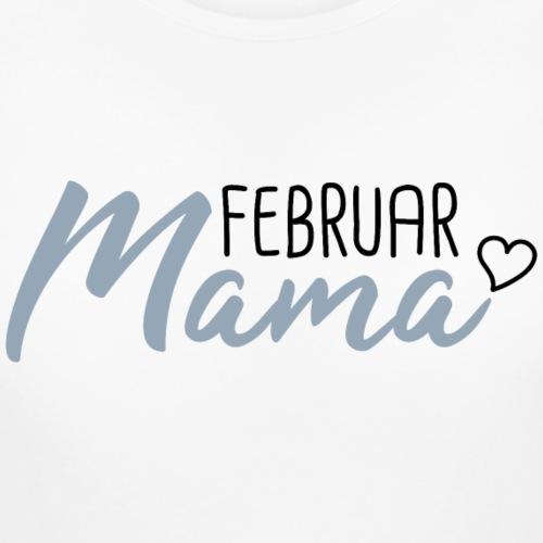 Mama Babybauch schwanger Februar
