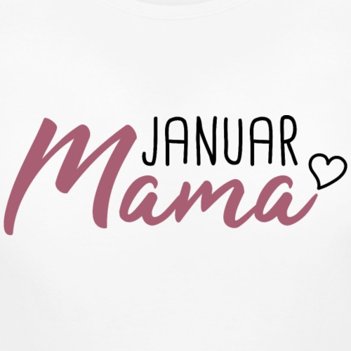 Mama Babybauch schwanger Januar