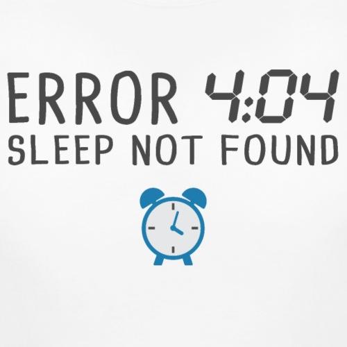 error 4:04 sleep not found - T-shirt de grossesse Femme