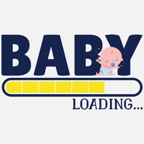 Baby loading - Frauen Schwangerschafts-T-Shirt