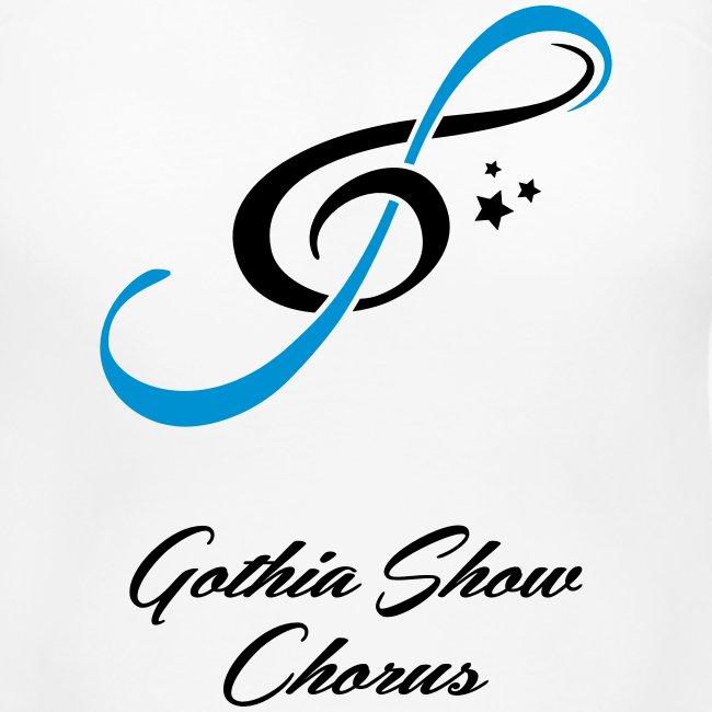 GothiaShowChorus LOGGO Blå svart