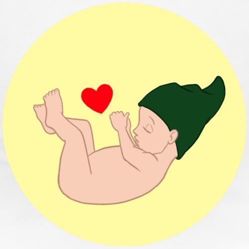 Bauchzwerg farbig - Schwangerschaft - Frauen Schwangerschafts-T-Shirt