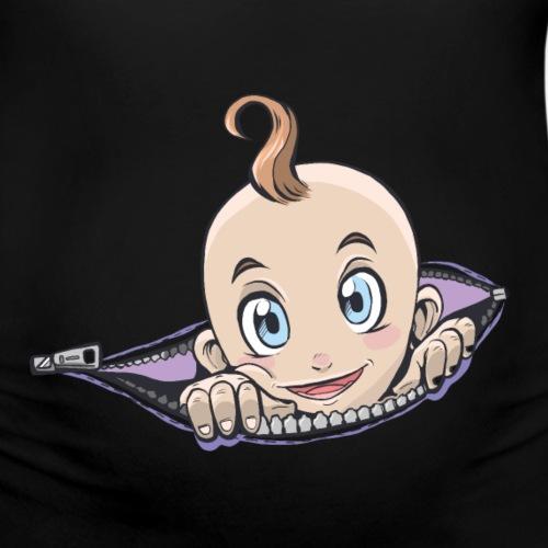 Baby Reißverschluss Schwangerschaft Umstandsmode - Frauen Schwangerschafts-T-Shirt