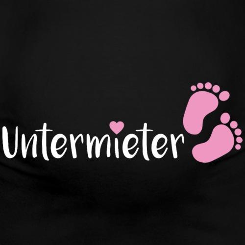 Babybauch Untermieter schwanger Geschenk
