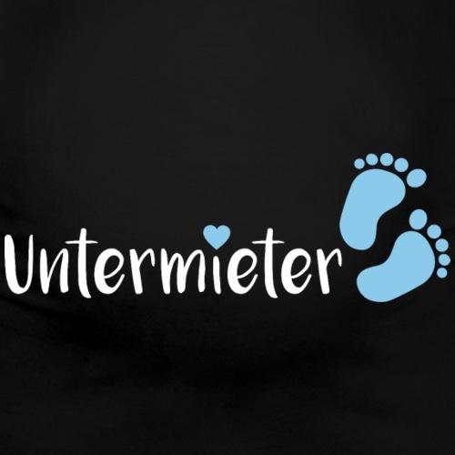 Babybauch Untermieter schwanger Geschenkidee