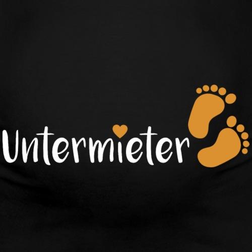 Babybauch Untermieter schwanger Herz