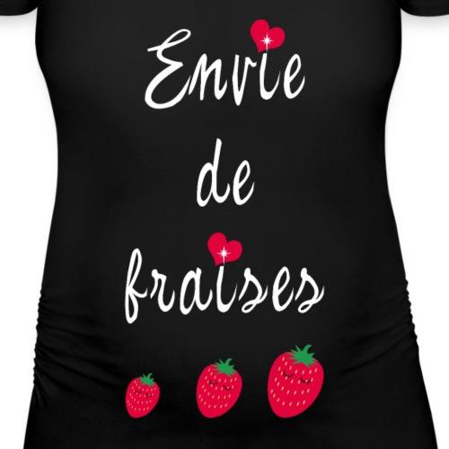 Envie de fraises (écrit blanc)