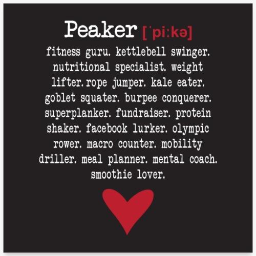 peaker poster - Poster 24 x 24 (60x60 cm)