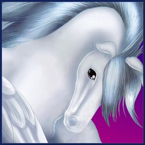 Pegasus 11 [Poster Version] - Poster 60x60 cm