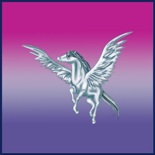 Pegasus 5 [Poster Version] - Poster 60x60 cm
