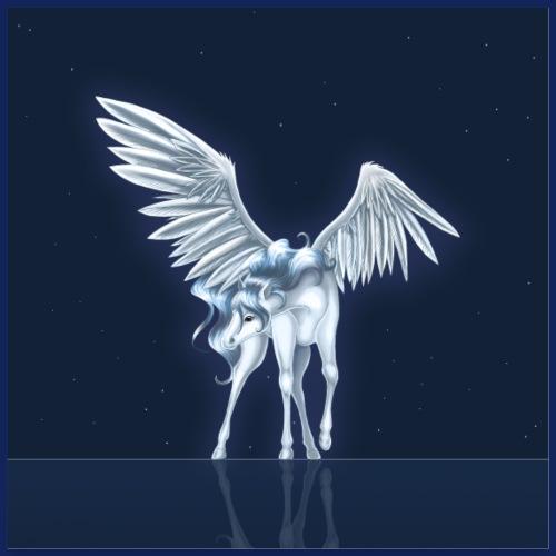 Pegasus 9 [Poster Version] - Poster 60x60 cm