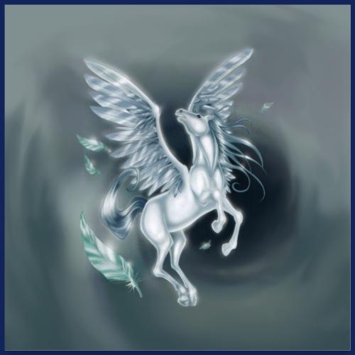 Pegasus 2 [Poster Version] - Poster 60x60 cm