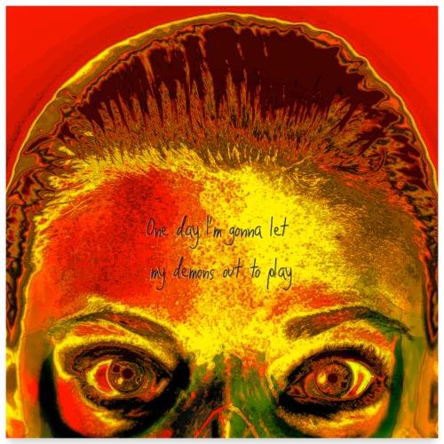 Demons - Poster 60x60 cm