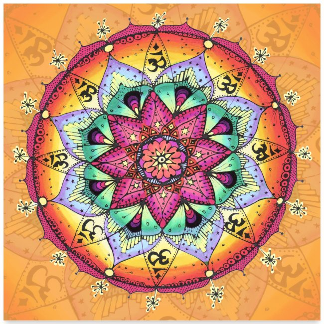 "SoulArt Mandala ""Das Feiern des Göttlichen"""