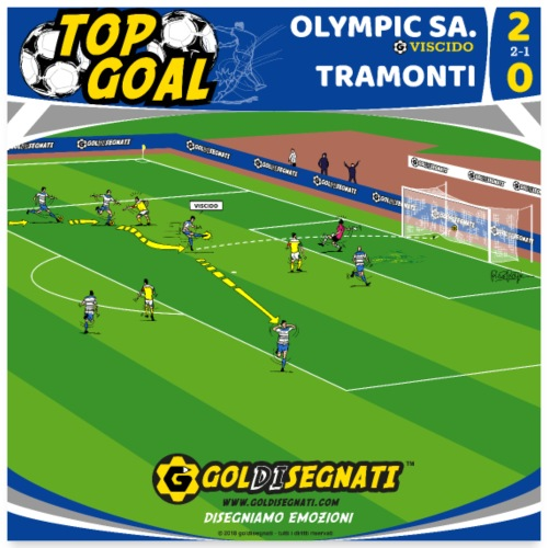 POSTER OLY-TRA 2-0 - Poster 60x60 cm