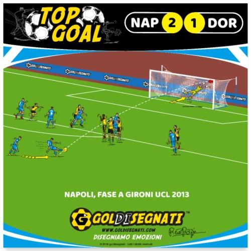 NAP-DOR 2-1 La magia su Punizione - Poster 60x60 cm