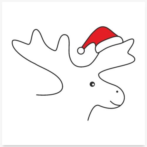 Elch Weihnachtselch Weihnachtsmotiv