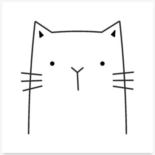 Katze niedlich süß Katzenmotiv Dekoration Geschenk
