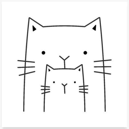 Katzen Katze Kater Kätzchen Dekoration Geschenk