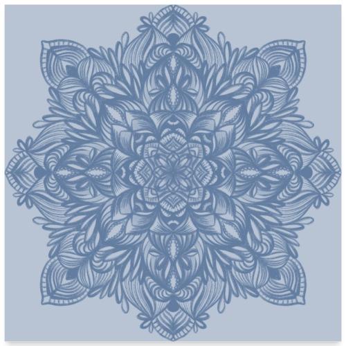Mandala - Poster 60x60 cm