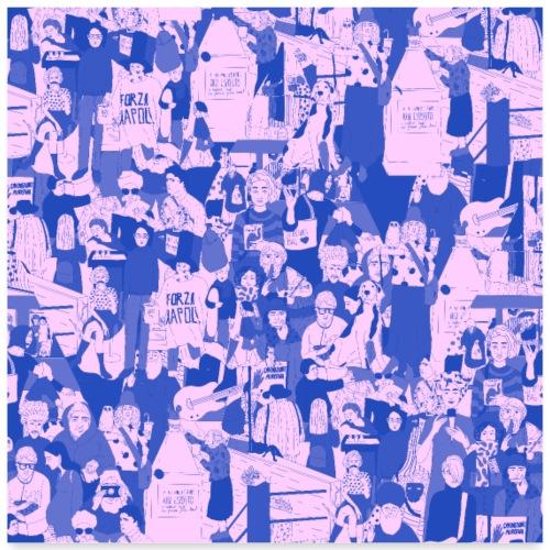 people - Poster 24 x 24 (60x60 cm)