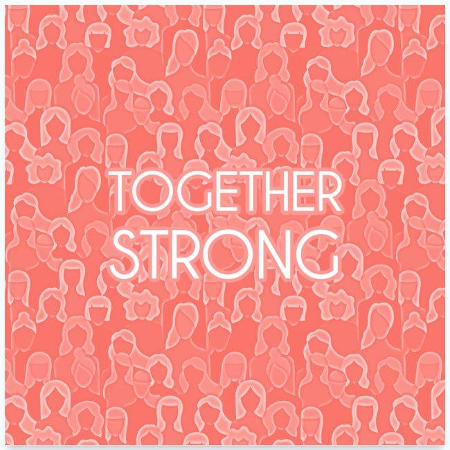 Frauen Power Zusammen stark