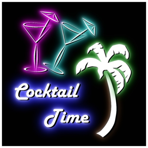 Cocktail Time Poster - Poster 60x60 cm