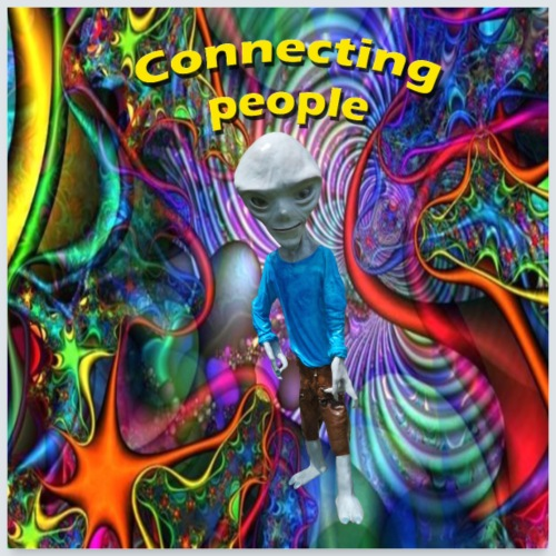 connecting people - Poster 60 x 60 cm