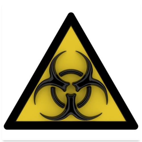 biohazard - Poster 60 x 60 cm