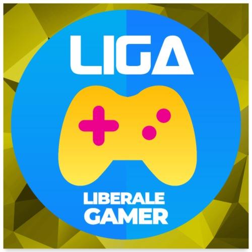 Logo mit Hintergrund - Poster 60x60 cm