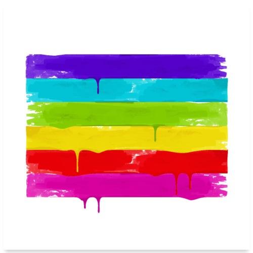 LGBTQS - Poster 60x60 cm