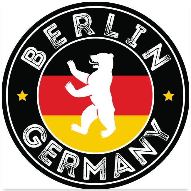 00110 Berlín oso bandera Alemania