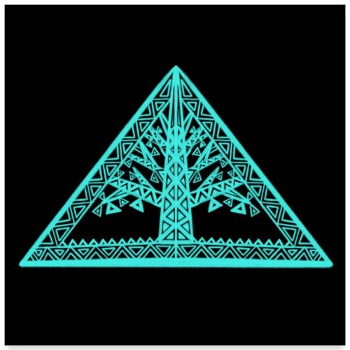 Lebensbaum - Poster 60x60 cm