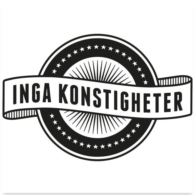 Inga Konstigheter logotyp