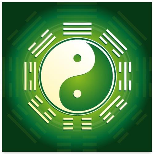 Yin und Yang - Poster 60x60 cm