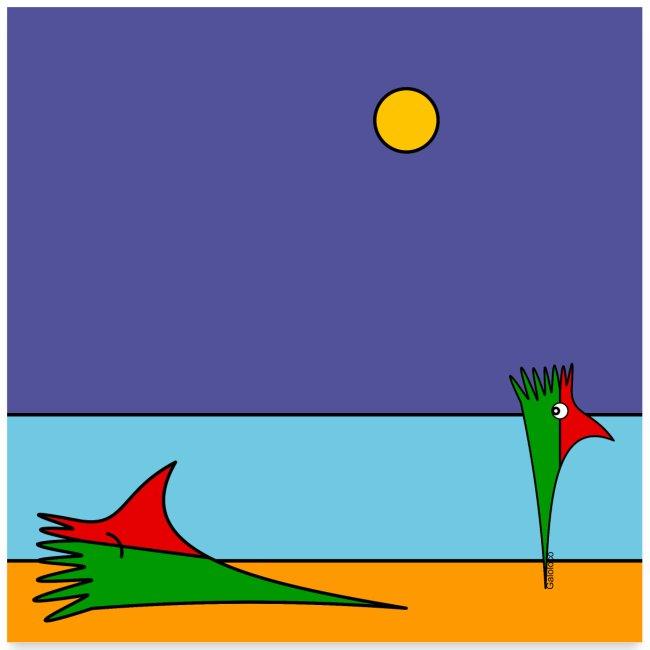 Galoloco - na praia / at the beach (1) - 1:1