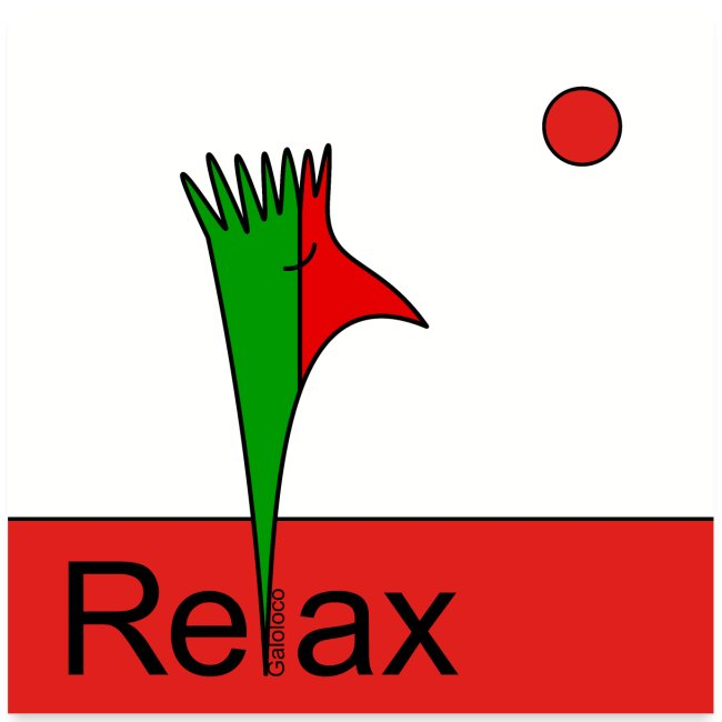 Galoloco - Relax (text) - 1:1