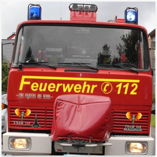 LFB-A Feuerwehrwaagen das Universalwerkzeug - Poster 60x60 cm